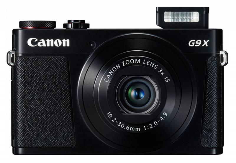 Фотоаппарат Canon PowerShot G9 X черный - фото 2