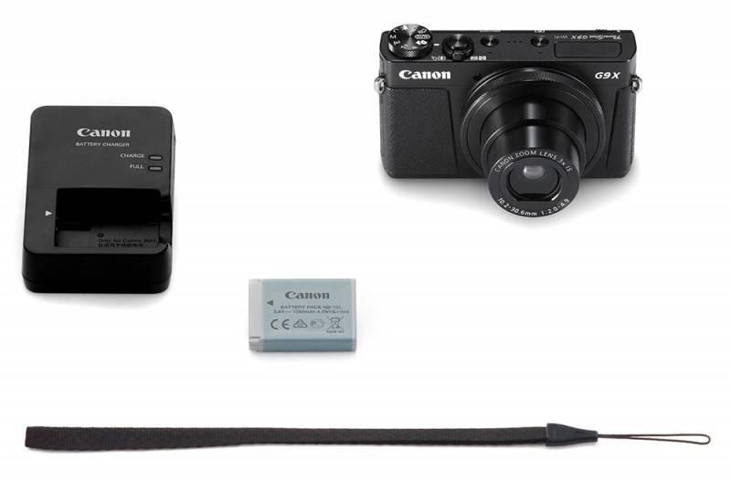 Фотоаппарат Canon PowerShot G9 X черный - фото 6