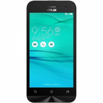 Смартфон Asus ZB452KG Zenfone Go черный, встроенная память 8Gb, дисплей 4.5 854x480, Android 5.1, камера 5Mpix, поддержка 3G, 2Sim, WiFi, BT, GPS, FM радио, microSD до 64Gb (90AX0141-M01130)