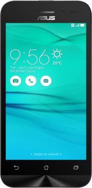 Смартфон Asus ZB452KG Zenfone Go белый, встроенная память 8Gb, дисплей 4.5 854x480, Android 5.1, камера 5Mpix, поддержка 3G, 2Sim, WiFi, BT, GPS, FM радио, microSD до 64Gb (90AX0142-M01140)