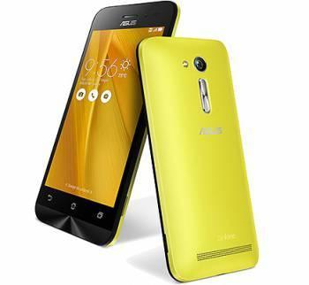 Смартфон Asus ZB452KG Zenfone Go желтый, встроенная память 8Gb, дисплей 4.5 854x480, Android 5.1, камера 5Mpix, поддержка 3G, 2Sim, WiFi, BT, GPS, FM радио, microSD до 64Gb (90AX0144-M01160)
