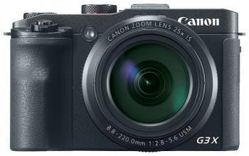 Фотоаппарат Canon PowerShot G3 X черный (0106C002)