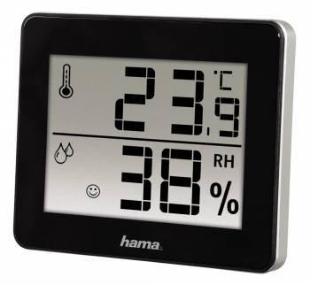 Термометр Hama TH-130 черный (00136261)