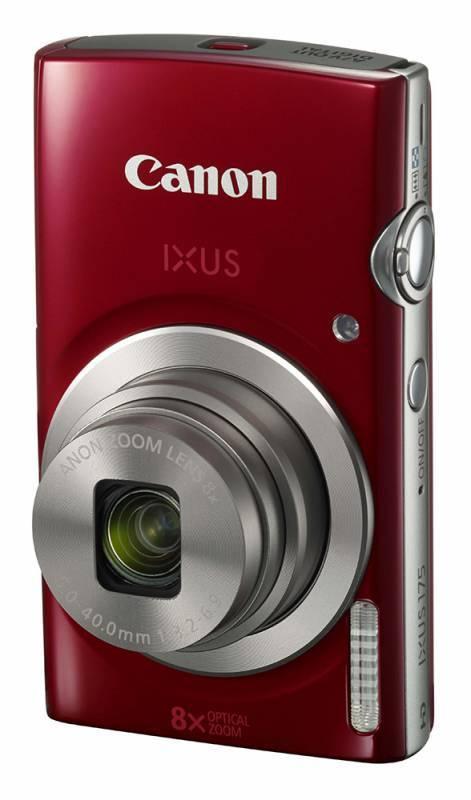 Фотоаппарат Canon IXUS 175 красный - фото 1