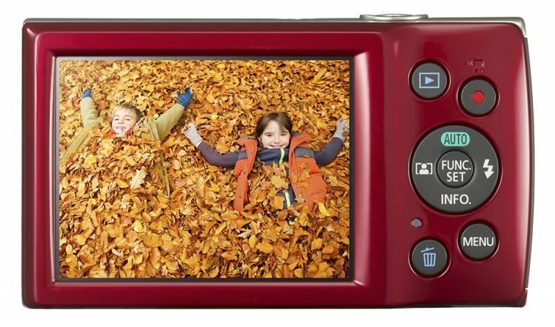 Фотоаппарат Canon IXUS 175 красный - фото 3