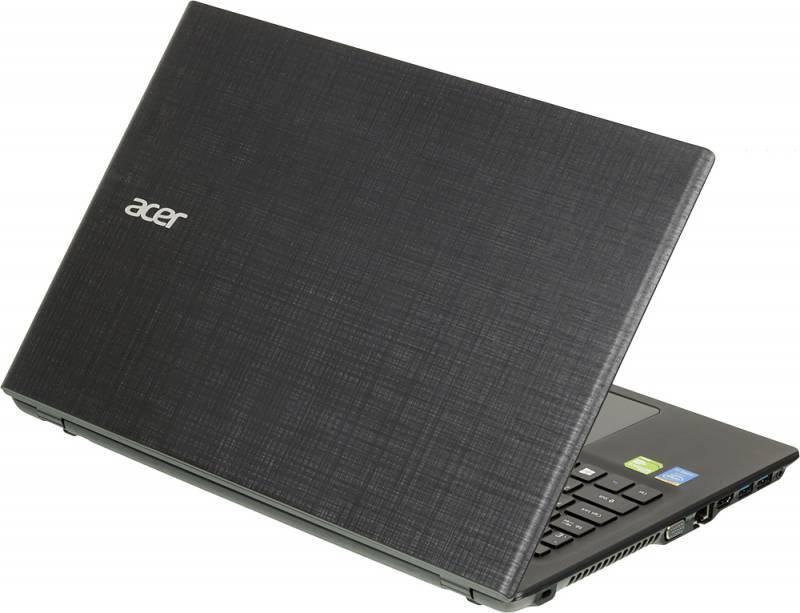 """Ноутбук 15.6"""" Acer Extensa EX2511G-35D4 (NX.EF9ER.007) черный - фото 2"""