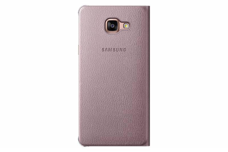 Чехол Samsung Flip Wallet, для Samsung Galaxy A7 (2016), розовое золото (EF-WA710PZEGRU) - фото 1