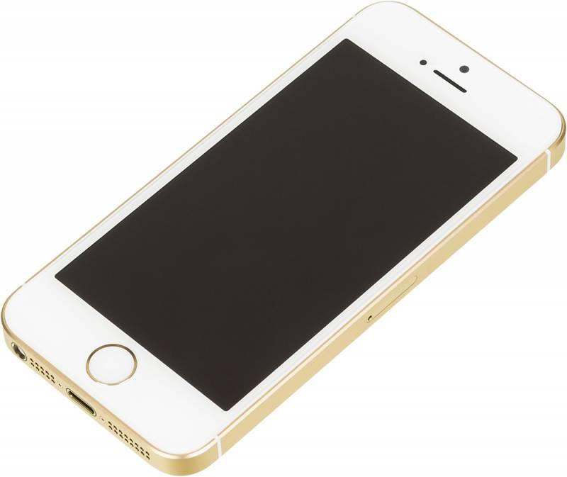 Смартфон Apple iPhone SE MLXM2RU/A 16ГБ золотистый - фото 3