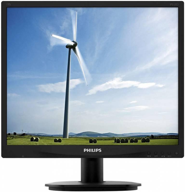 """Монитор 19"""" Philips 19S4QAB (00/01) черный - фото 1"""