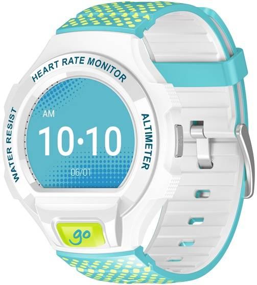 """Смарт-часы Alcatel GO WATCH SM03 1.22"""" белый/лайм - фото 1"""