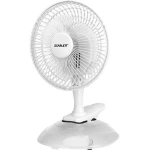Вентилятор настольный Scarlett SC-DF111S01 белый (SC - DF111S01)