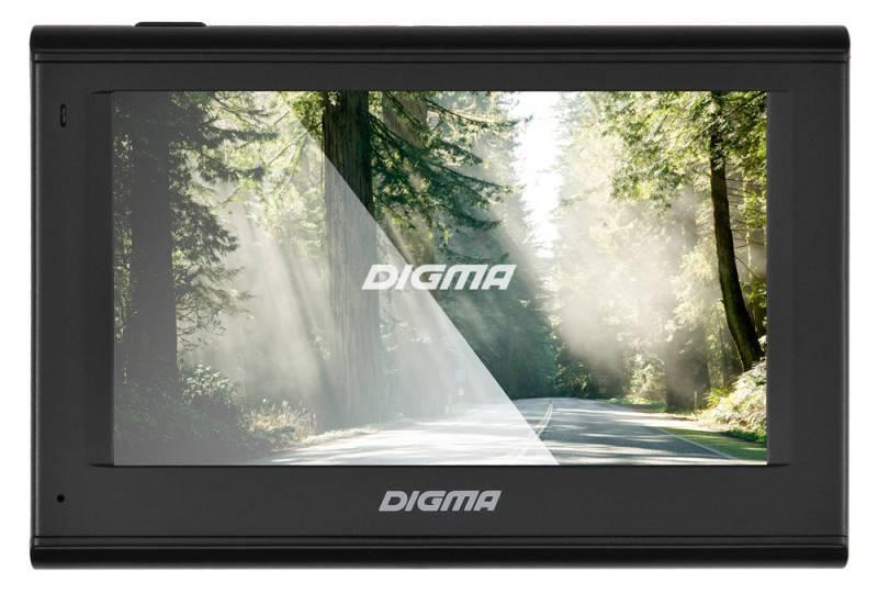 "GPS-навигатор Digma ALLDRIVE 401 4.3"" черный - фото 1"
