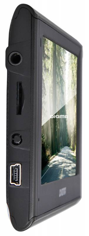 "GPS-навигатор Digma ALLDRIVE 401 4.3"" черный - фото 3"
