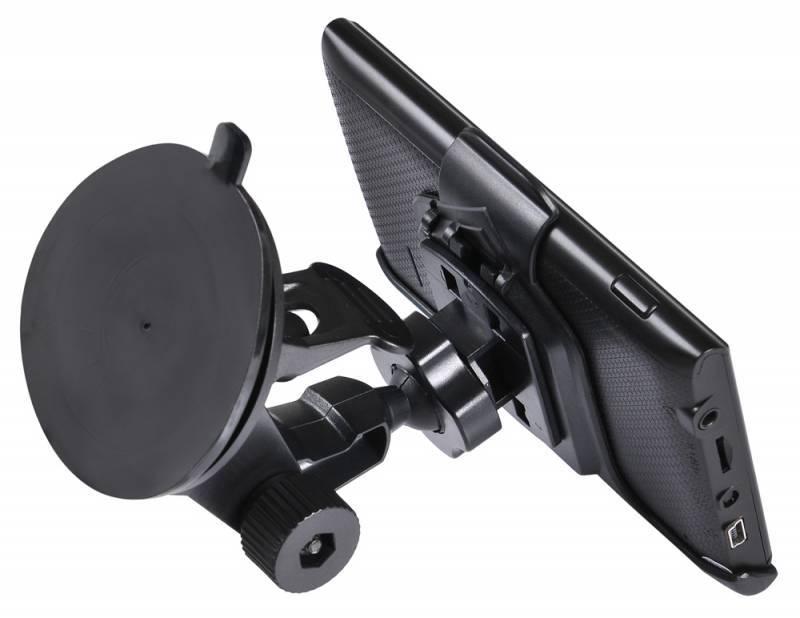 "GPS-навигатор Digma ALLDRIVE 401 4.3"" черный - фото 8"