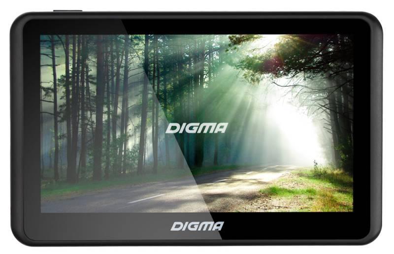 "GPS-навигатор Digma ALLDRIVE 501 5"" черный - фото 1"