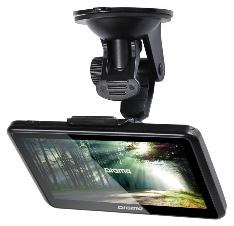"GPS-навигатор Digma ALLDRIVE 501 5"" черный - фото 7"