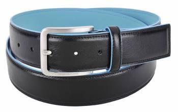 Ремень Piquadro Blue Square черный, кожа натуральная (CU3254B2/N)