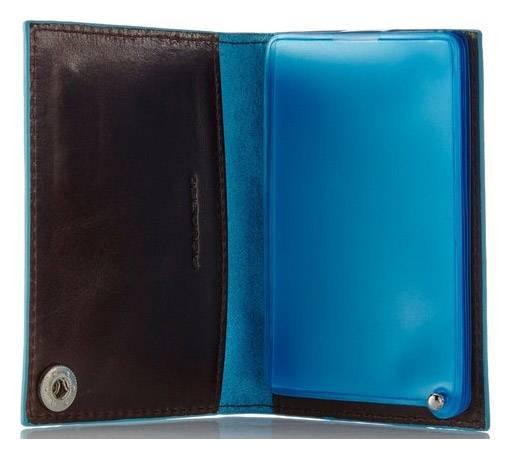 Чехол для кредитных карт Piquadro Blue Square PP1661B2/N черный натур.кожа - фото 2