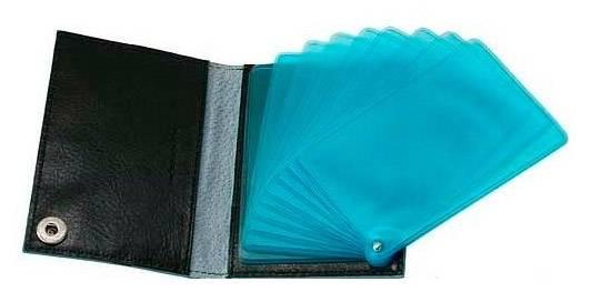 Чехол для кредитных карт Piquadro Blue Square PP1661B2/N черный натур.кожа - фото 3