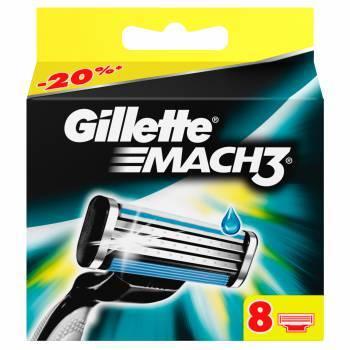 Сменная кассета Gillette Mach3 (81540660)