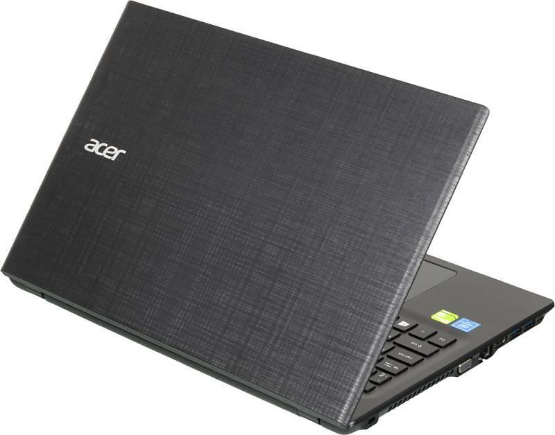 """Ноутбук 15.6"""" Acer Extensa EX2511G-P1TE черный - фото 2"""