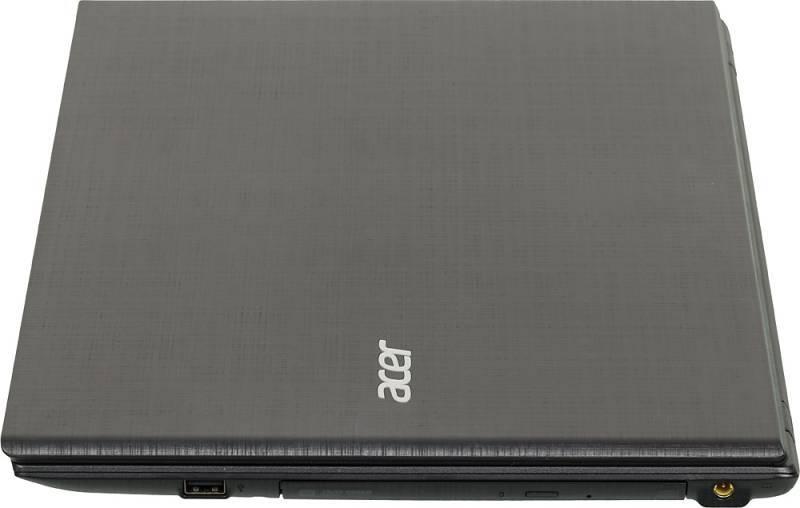 """Ноутбук 15.6"""" Acer Extensa EX2511G-P1TE черный - фото 4"""