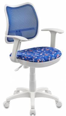 Кресло Бюрократ CH-W797 / BL / SEA синий