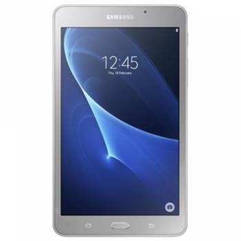 Планшет Samsung Galaxy Tab A SM-T280 серебристый, процессор 1.3ГГц четырехъядерный, оперативная память 1.5Gb, встроенная память 8Gb, диагональ экрана 7, TFT, 1280x800, WiFi, BT, камера 5Mpix/2Mpix, GPS, Android 5.1, поддержка карт памяти microSD до 200Gb