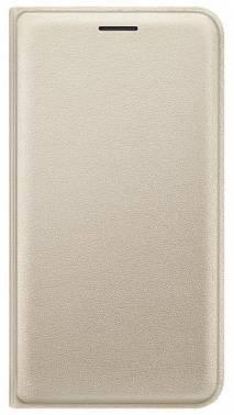 Чехол Samsung EF-WJ120P, для Samsung Galaxy J1(2016), золотистый (EF-WJ120PFEGRU)