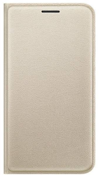 Чехол Samsung Flip Cover, для Samsung Galaxy J1 mini, золотистый (EF-FJ105PFEGRU) - фото 2