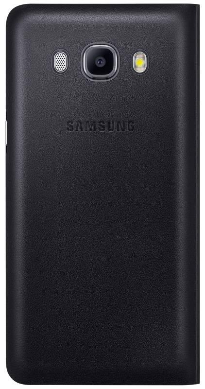Чехол Samsung Flip Wallet, для Samsung Galaxy J7 (2016), черный (EF-WJ710PBEGRU) - фото 1