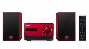 Микросистема Pioneer X-CM35-R красный