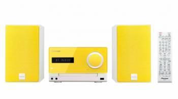 Микросистема Pioneer X-CM35-Y желтый