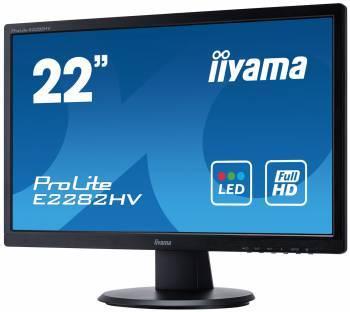 """Монитор 21.5"""" Iiyama ProLite E2282HV-B1 черный"""