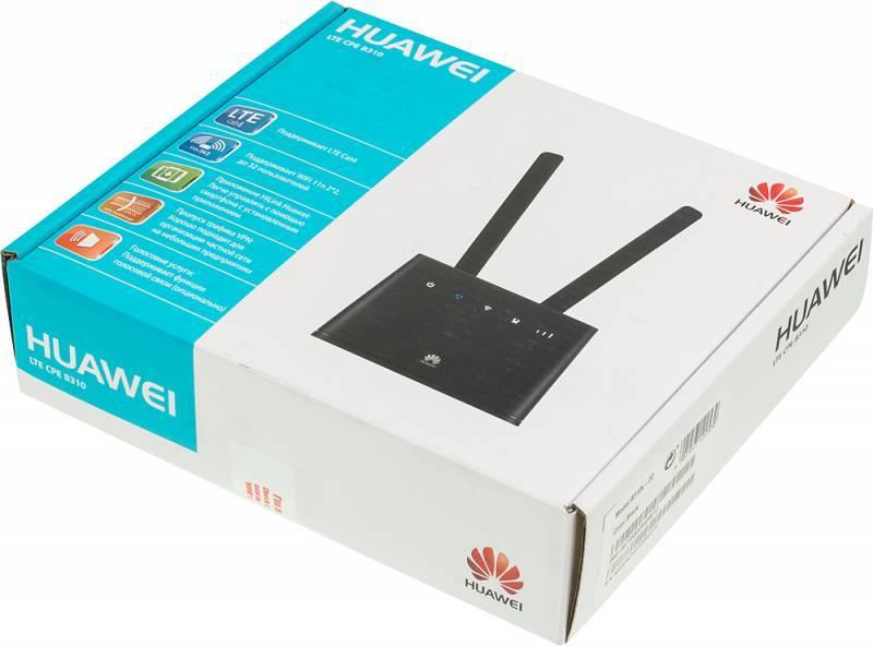 Интернет-центр Huawei B310s-22 черный (B310) - фото 9