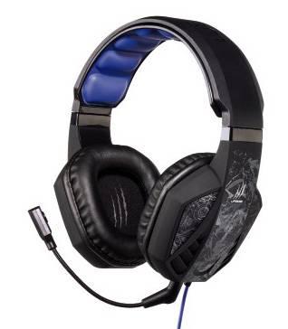Наушники с микрофоном Hama uRage SoundZ черный