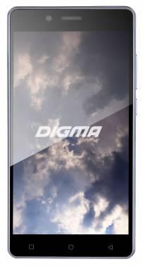 Смартфон Digma VOX S502 3G серый титан, встроенная память 8Gb, дисплей 5.5 1280x720, Android 5.1, камера 8Mpix, поддержка 3G, 2Sim, WiFi, BT, GPS, FM радио, microSDHC до 128Gb (VS5003MG)