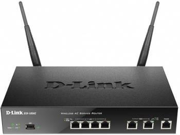 Сетевой экран D-Link DSR-500AC черный