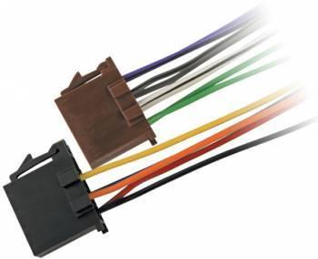 Адаптер ISO Kicx ISO-002A черный/коричневый (9601026)