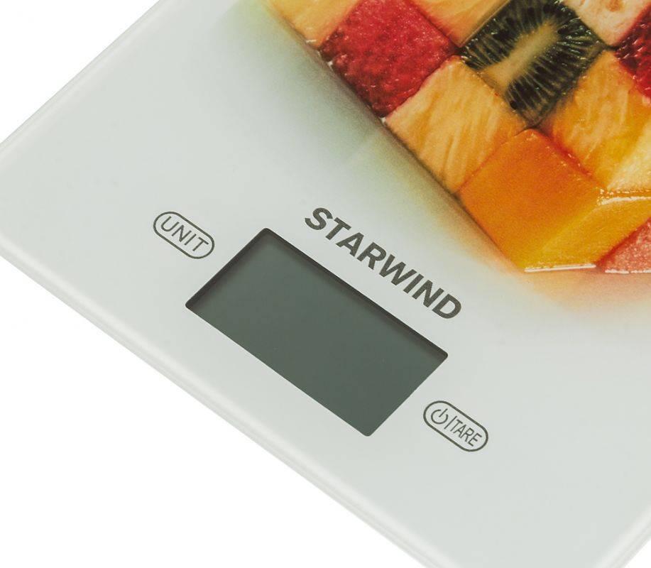 Кухонные весы Starwind SSK3359 - фото 4