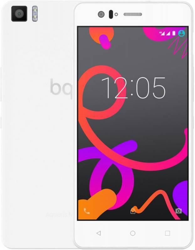 Смартфон BQ Aquaris M5 16ГБ белый - фото 1