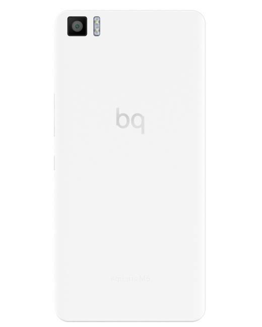 Смартфон BQ Aquaris M5 16ГБ белый - фото 3