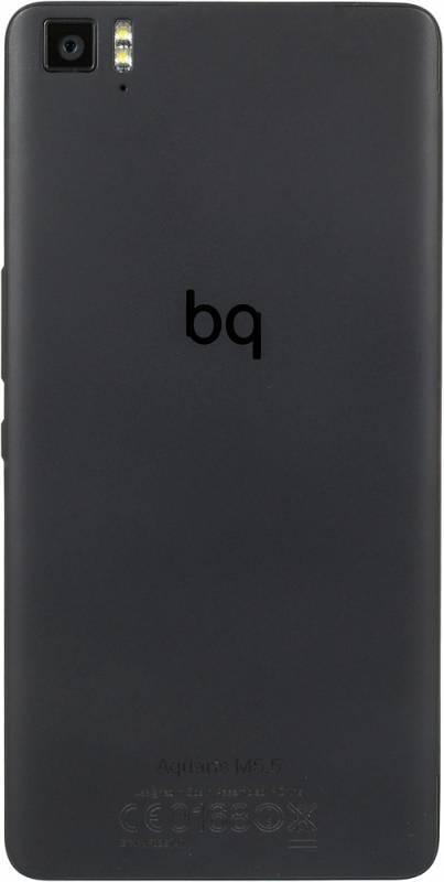 Смартфон BQ Aquaris M5.5 16ГБ черный - фото 4