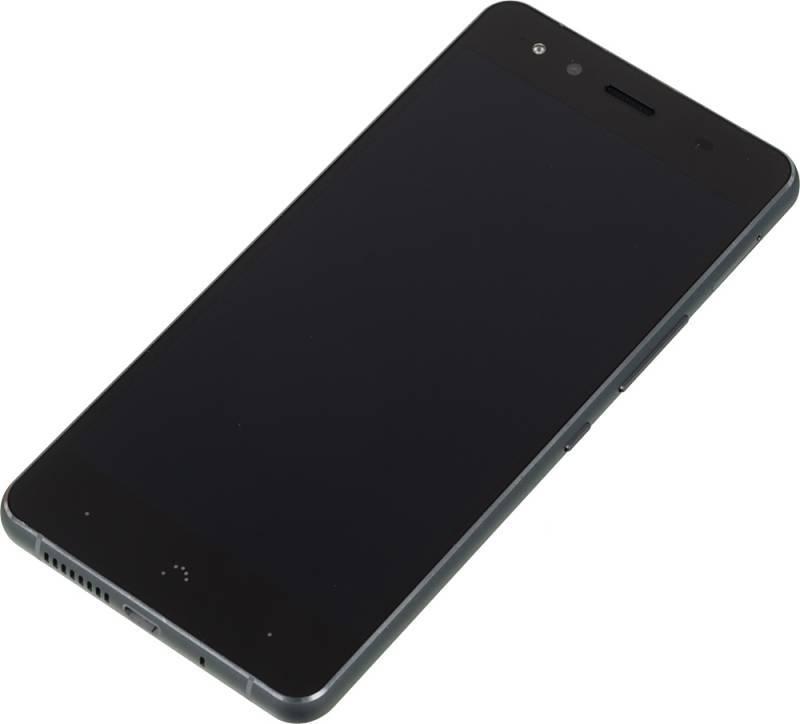 Смартфон BQ Aquaris X5 16ГБ черный/серый - фото 2
