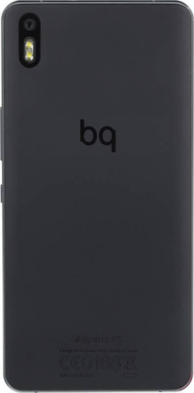 Смартфон BQ Aquaris X5 16ГБ черный/серый - фото 4