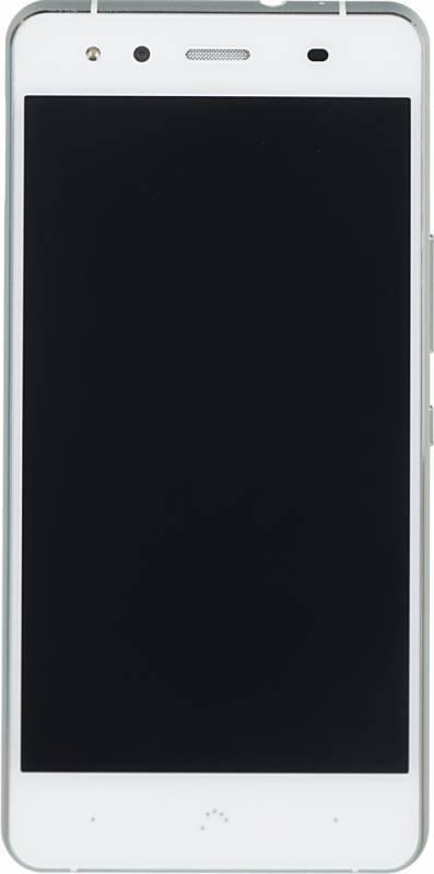 Смартфон BQ Aquaris X5 16ГБ белый/серебристый - фото 1