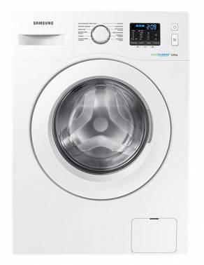 Стиральная машина Samsung WW60H2200EW, белый корпус, белый люк, фронтальная загрузка до 6кг, максимальная скорость отжима 1200об/мин