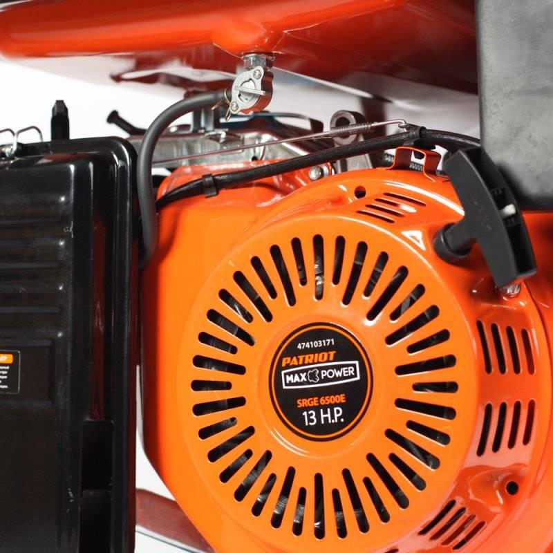 Генератор Patriot Max Power SRGE 6500E (474103171) - фото 3