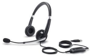 Наушники с микрофоном Dell UC300 Professional Stereo черный