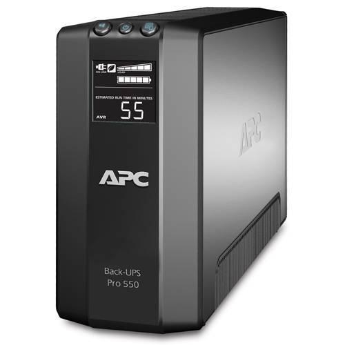 ИБП APC Back-UPS Pro BR550GI-W3Y черный - фото 1